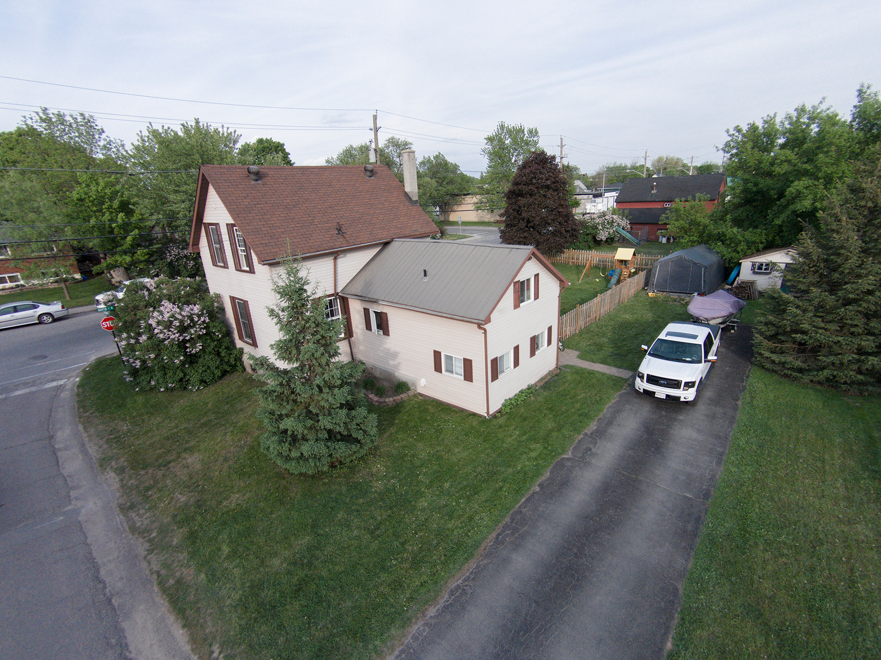 Aerial real estate photographer